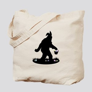 Easter Squatchin Tote Bag