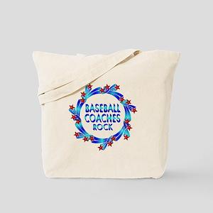 Baseball Coaches Rock Tote Bag