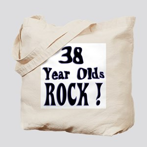 38 Year Olds Rock ! Tote Bag