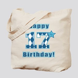 Happy 17th Birthday! Tote Bag