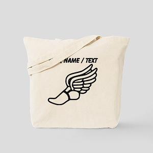 Custom Running Shoe With Wings Tote Bag