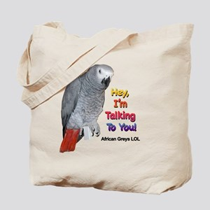 Hey, I'm talking to you! LOL Tote Bag