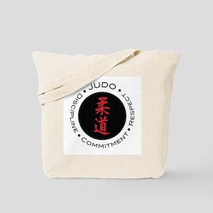 Judo Logo circle Tote Bag