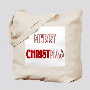 Merry Christmas Tote Bag