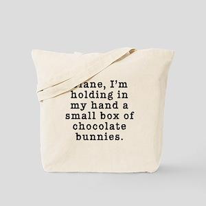 Twin Peaks Chocolate Bunnies Tote Bag