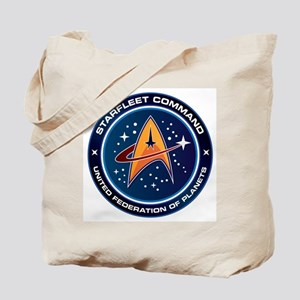 Star Trek Federation Of Planets Patch Tote Bag
