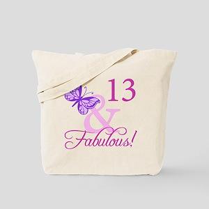 Fabulous 13th Birthday Tote Bag