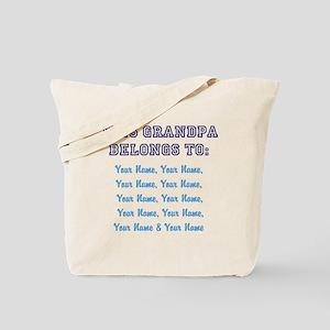 This Grandpa Belongs To: [Your Names] - Personaliz