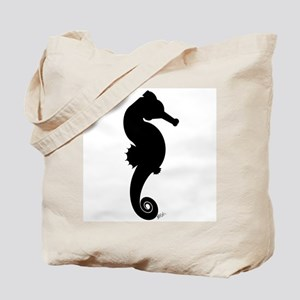 Seahorse \ Take Only Pictures Tote Bag