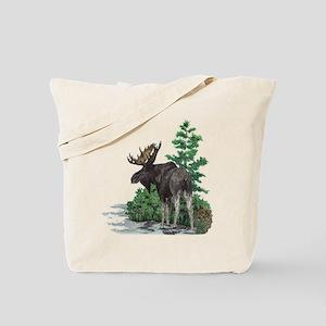 Bull moose art Tote Bag