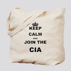 KEEP CALM AND JOIN THE CIA Tote Bag
