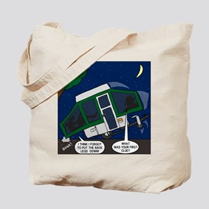 Pop-up Camper Problems Tote Bag