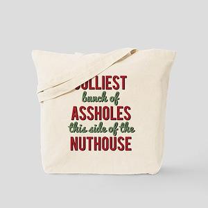 Jolliest Bunch of Assholes Tote Bag