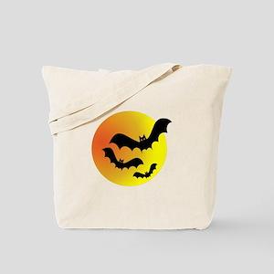 Bat Silhouettes Tote Bag