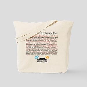 Supernatural Epic Love Tote Bag
