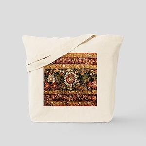 Beaded Indian Saree Photo Tote Bag