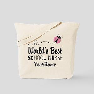 World's Best School Nurse Tote Bag