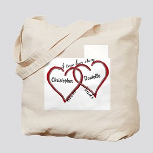 A true love story: personalize Tote Bag