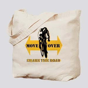 Move Over Share The Road Tote Bag