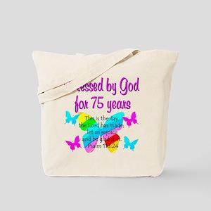 75 YR OLD ANGEL Tote Bag
