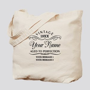 Personalize Funny Birthday Tote Bag