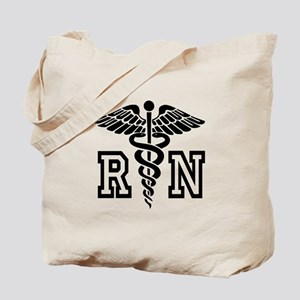 RN Nurse Caduceus Tote Bag