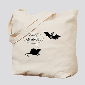 Omg An angel Tote Bag