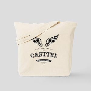 SUPERNATURAL Castiel Vintage Tote Bag