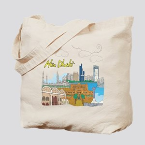 Abu Dhabi in the United Arab Emirates Tote Bag