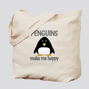 Penguin Happy Tote Bag