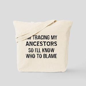 Funny Genealogy Tote Bag
