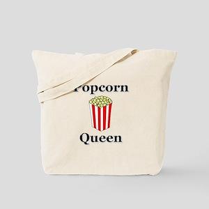 Popcorn Queen Tote Bag