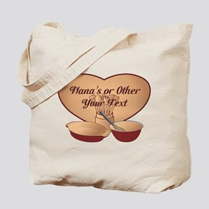 Personalized Cooking Tote Bag