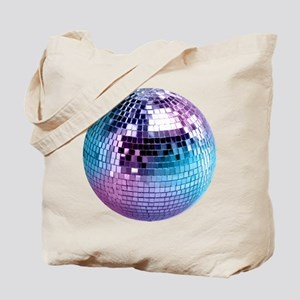 Disco Ball Graphic Tote Bag
