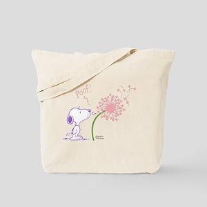 Snoopy Dandelion Tote Bag