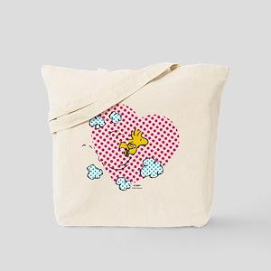 Valentine's Woodstock Tote Bag
