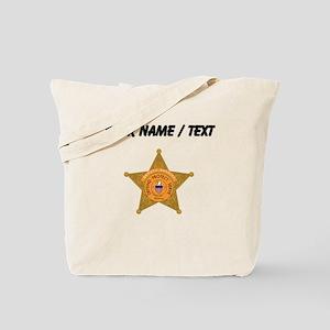 Deputy Sheriff Badge (Custom) Tote Bag
