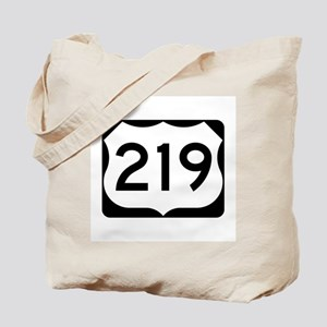US Route 219 Tote Bag