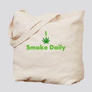 I Smoke Daily Tote Bag