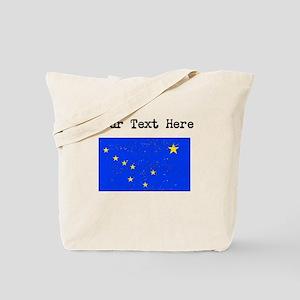 Alaska State Flag (Distressed) Tote Bag
