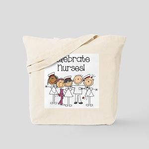 Celebrate Nurses Tote Bag