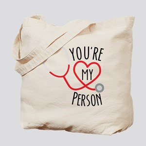 Grey's Anatomy You're My Person Tote Bag