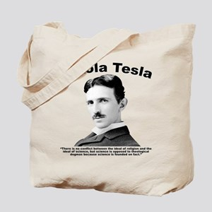 Tesla: Religion Tote Bag