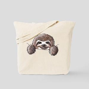 KiniArt Pocket Sloth Tote Bag