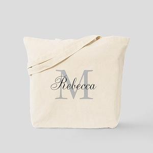 Monogram Initial And Name Personalize It! Tote Bag