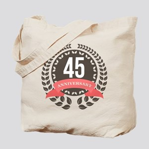 45Years Anniversary Laurel Badge Tote Bag