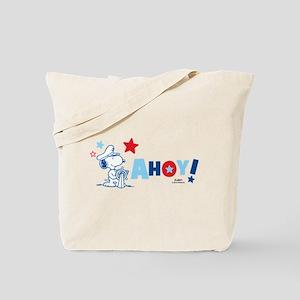 Snoopy AHOY Tote Bag