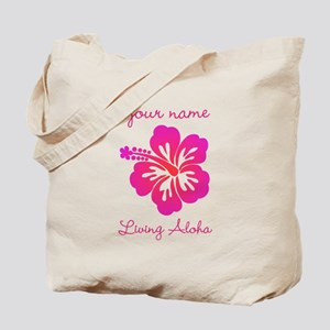 Living Aloha (personalized) Tote Bag