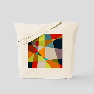Mid Century Modern Geometric Tote Bag