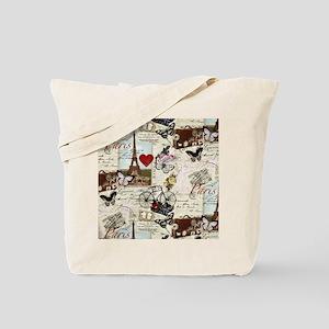 Paris Memories Tote Bag